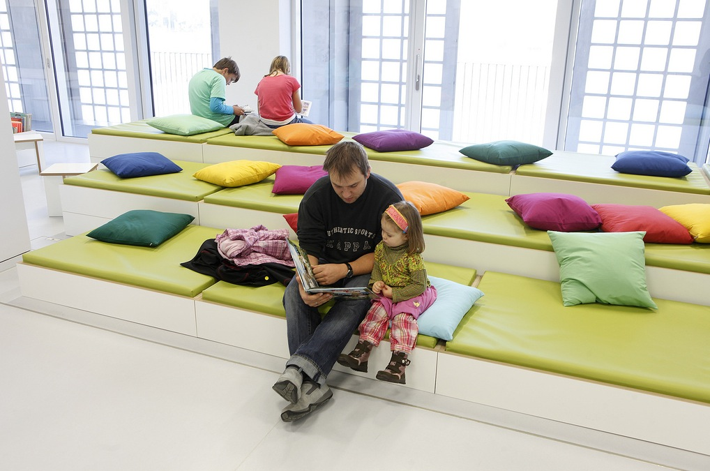 7 Inspiring Kid Room Color Options For Your Little Ones: The New Stuttgart City Library