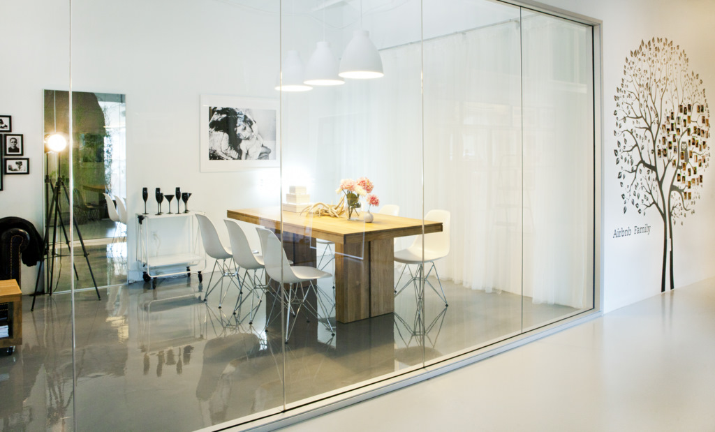 stunning office interior design wall art | Airbnb's Beautiful Offices