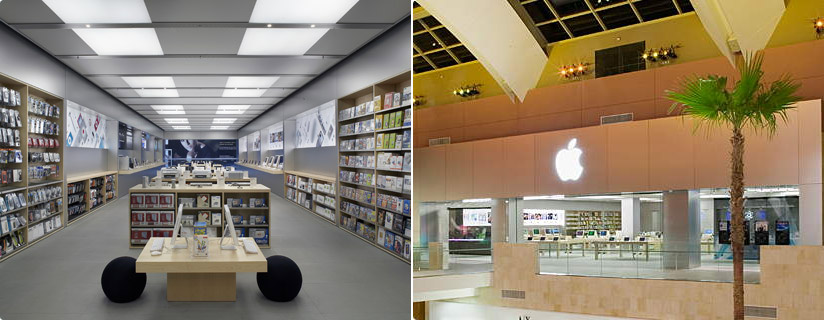 apple 39 s beautiful retail stores. Black Bedroom Furniture Sets. Home Design Ideas