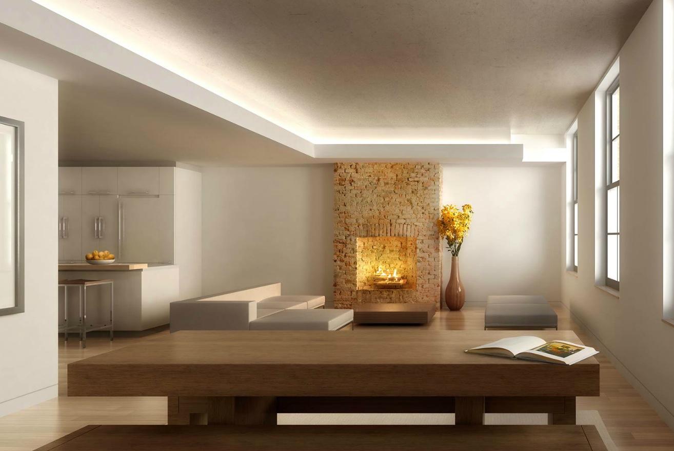 fireplace focus   Interior Design Ideas.