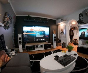 A Mive Home Entertainment Setup