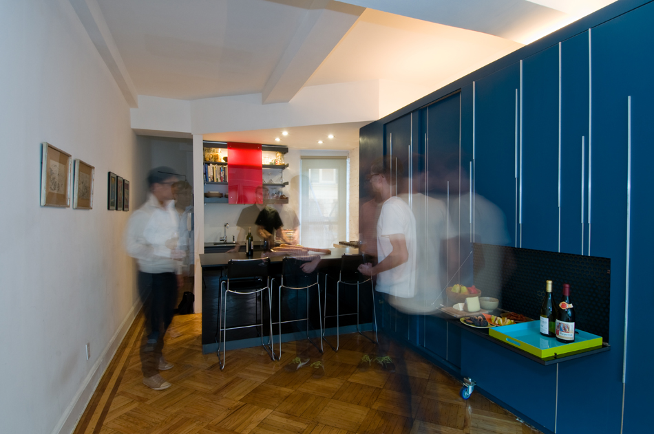 Super small apartment design in manhattan