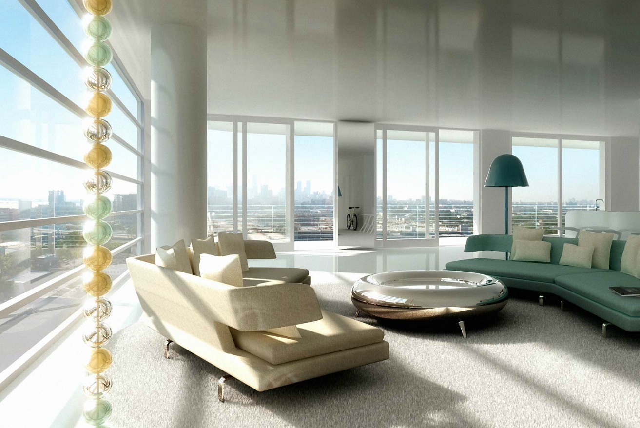 Ultra Modern Luxury Living Interior Design Ideas