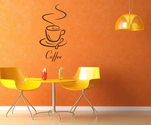 coffee vinyl wall decal