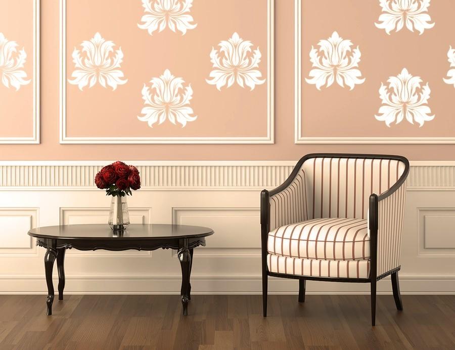 Home Interior Wall Design: Vinyl Wall Decals