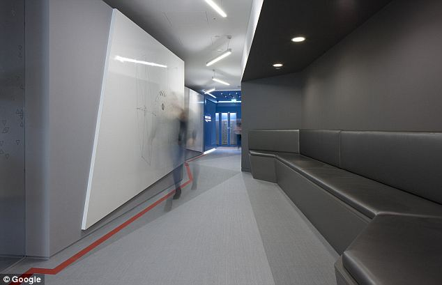 Google Office Corridor Interior Design Ideas
