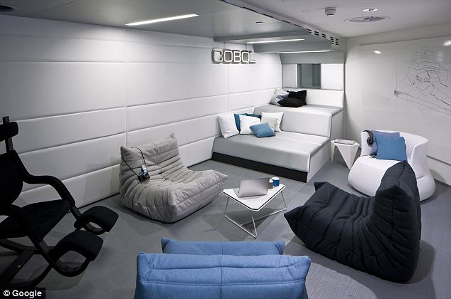 inspiring teen rooms with awesome and innovation modern design office room | chill out room Google office | Interior Design Ideas.