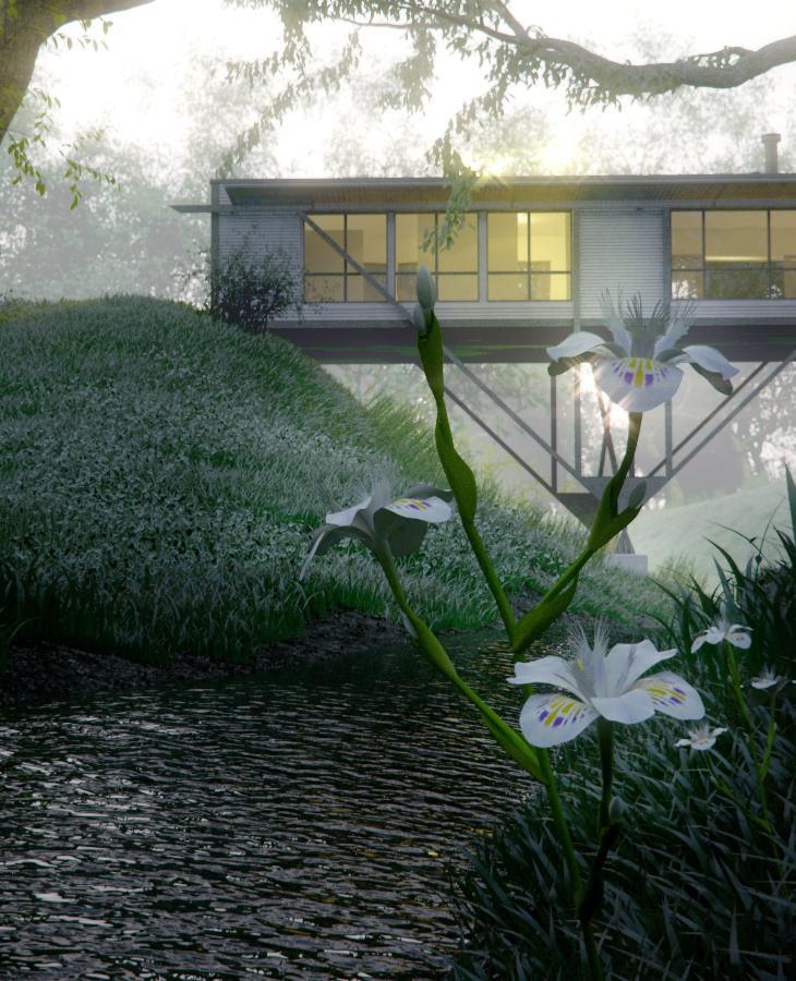 Bridge House By Junsekino Architect And Design: Bridge House [Visualized]