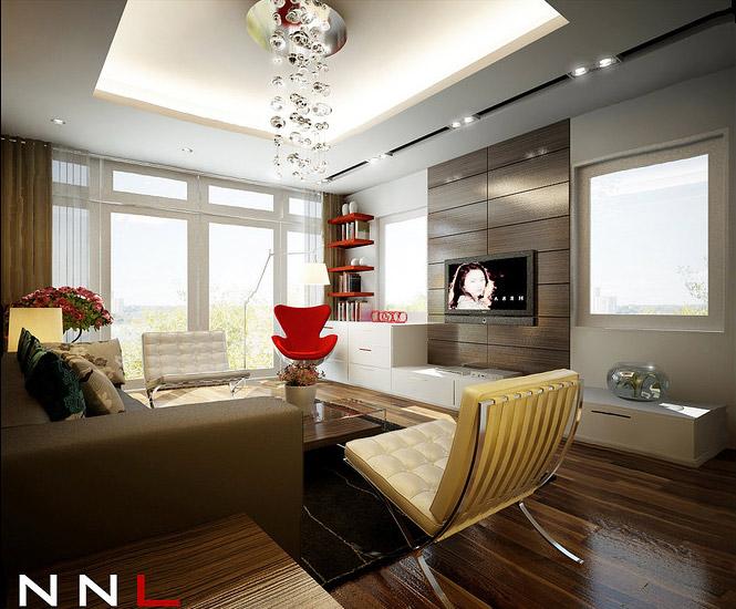 red brown living room interior design ideas. Black Bedroom Furniture Sets. Home Design Ideas