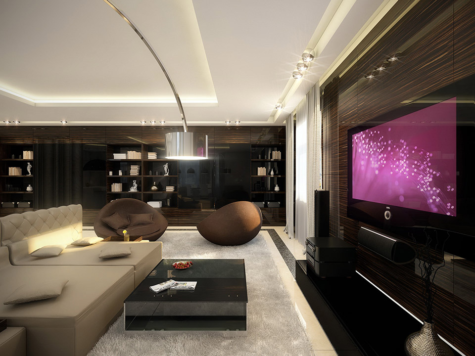 Cohesive interiors shaped by geometrix for Living elegante