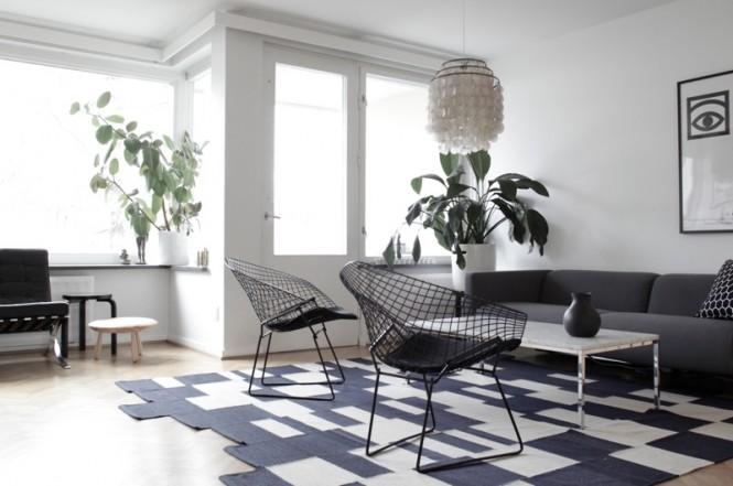 Black Amp White Interiors