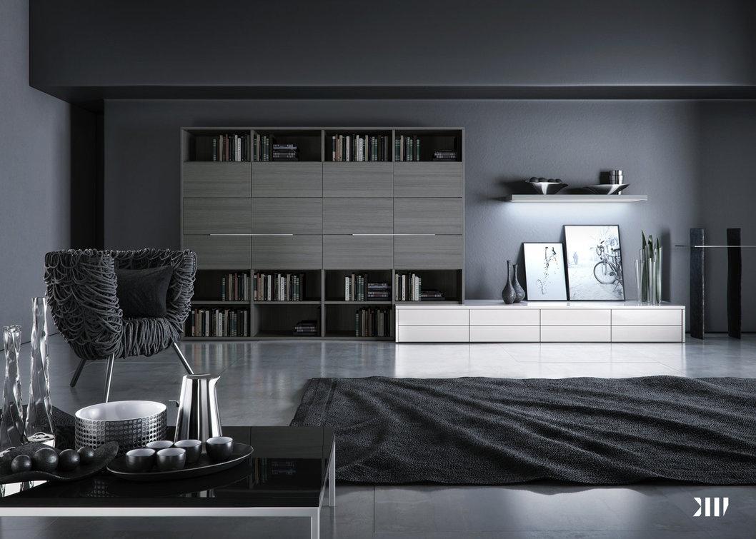 20a3a3cfc89 12 Black and white grey living room | Interior Design Ideas.