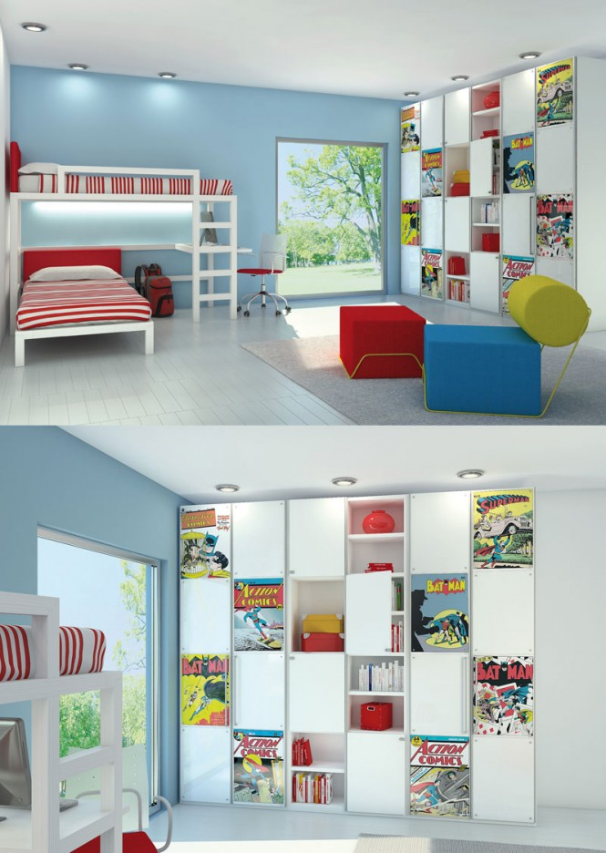 50 Car Themed Bedroom Ideas For Kids Boys Accessories: Poster Print Kids Rooms