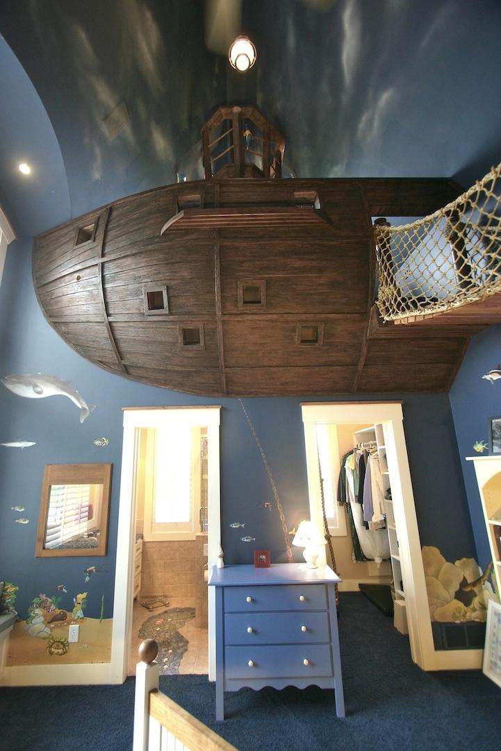 11 Pirate Ship Theme Bedroom Interior Design Ideas