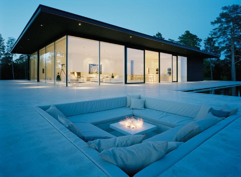 Conversation Pits Sunken Sitting Areas