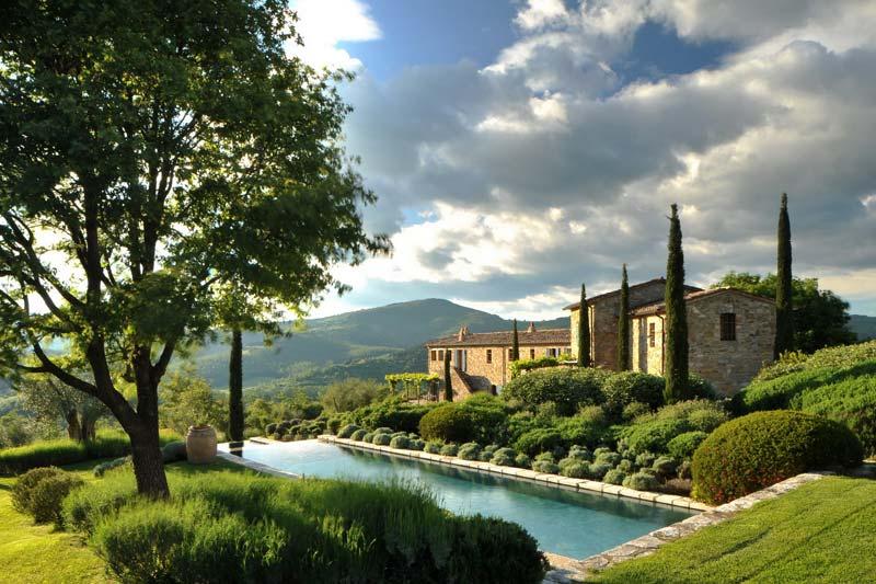 Col Delle Noci Italian Villa Landscape Interior Design Ideas