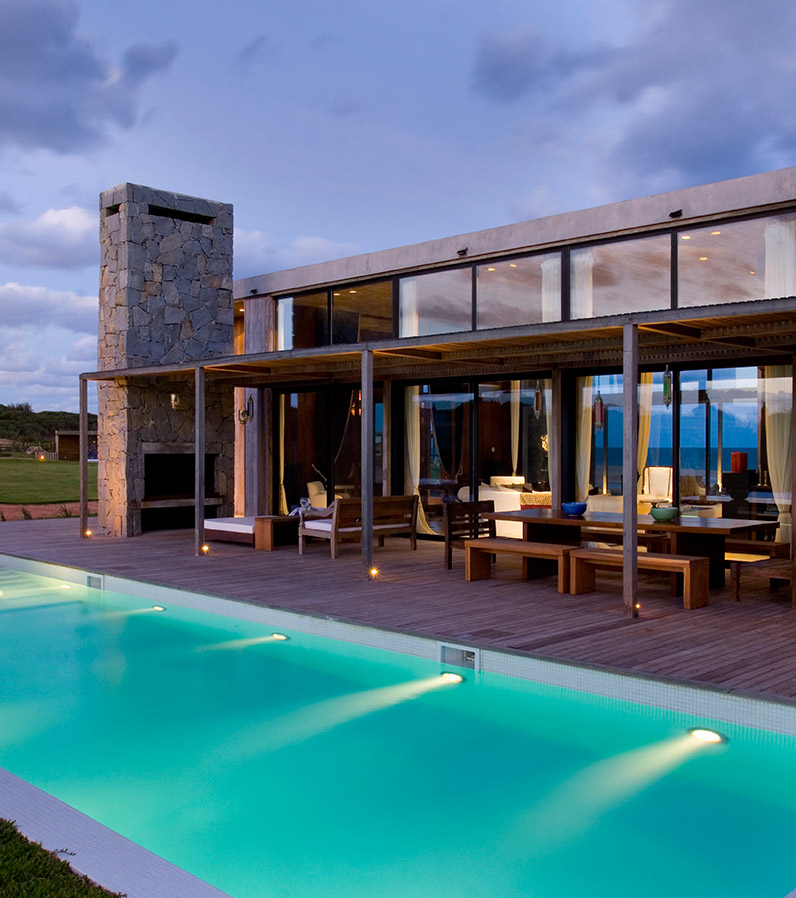 Luxury Pool House: La Boyita House, In Uruguay