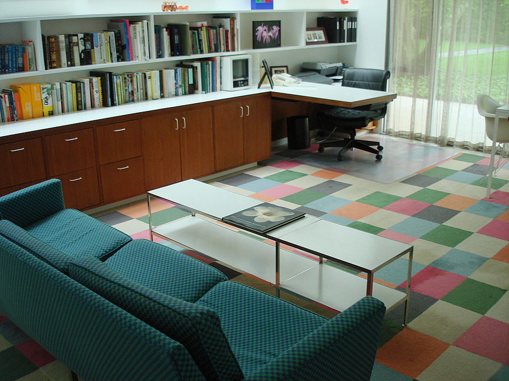 Saarinen Miller House Office Interior Design Ideas