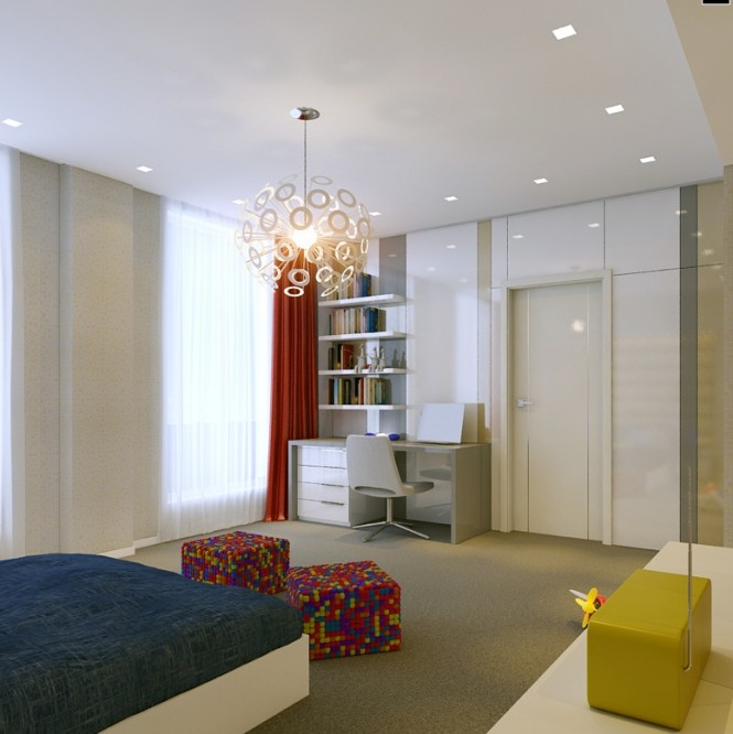 modern bedrooms designs 2012 rooms climbing walls and contemporary schemes 16318