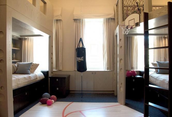 Shared boys bedroom design