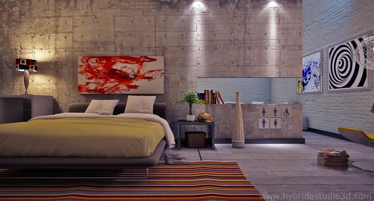 Bedroom Feature Walls