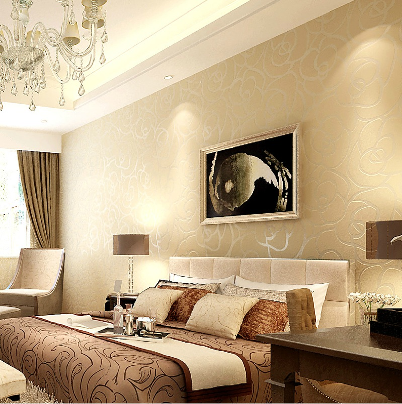 Art Room Bedroom: Exquisite Wall Coverings From China