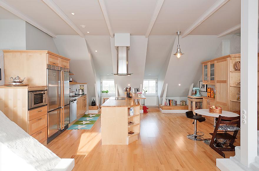 Neutral open plan kitchen diner interior design ideas - Designs for kitchen diners open plan ...