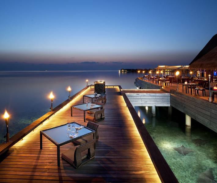 The dazzling w retreat and spa maldives