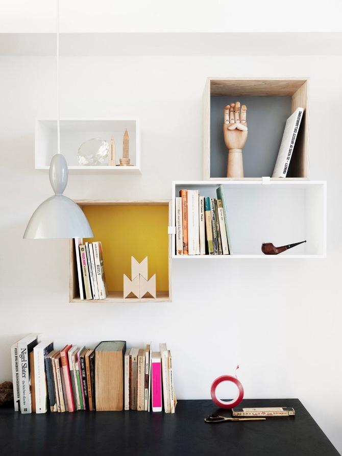 Black Worktop White Kitchen Interior Design Ideas