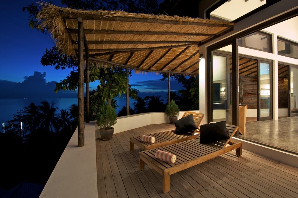 Sun deck loungers