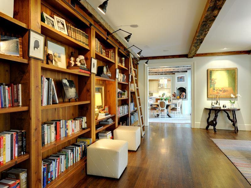 Home library ladders interior design ideas - Interior design schools in atlanta ...