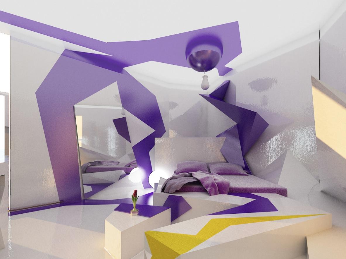 cubism in interior design. Black Bedroom Furniture Sets. Home Design Ideas