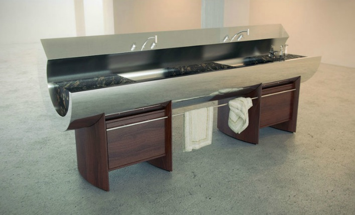 Innovative Kitchens & Curvaceous Countertops - photo#1