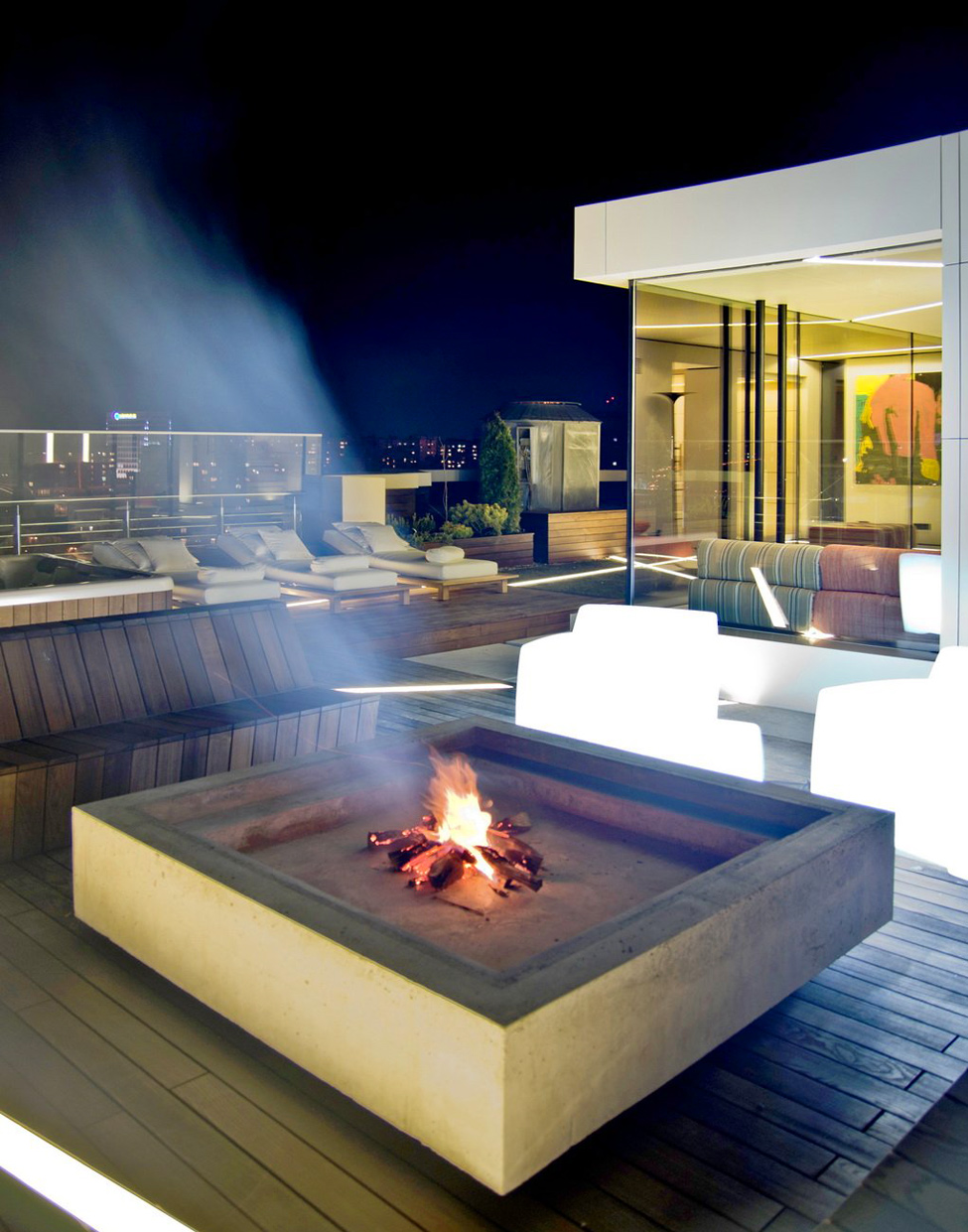Decking Fire Pitinterior Design Ideas