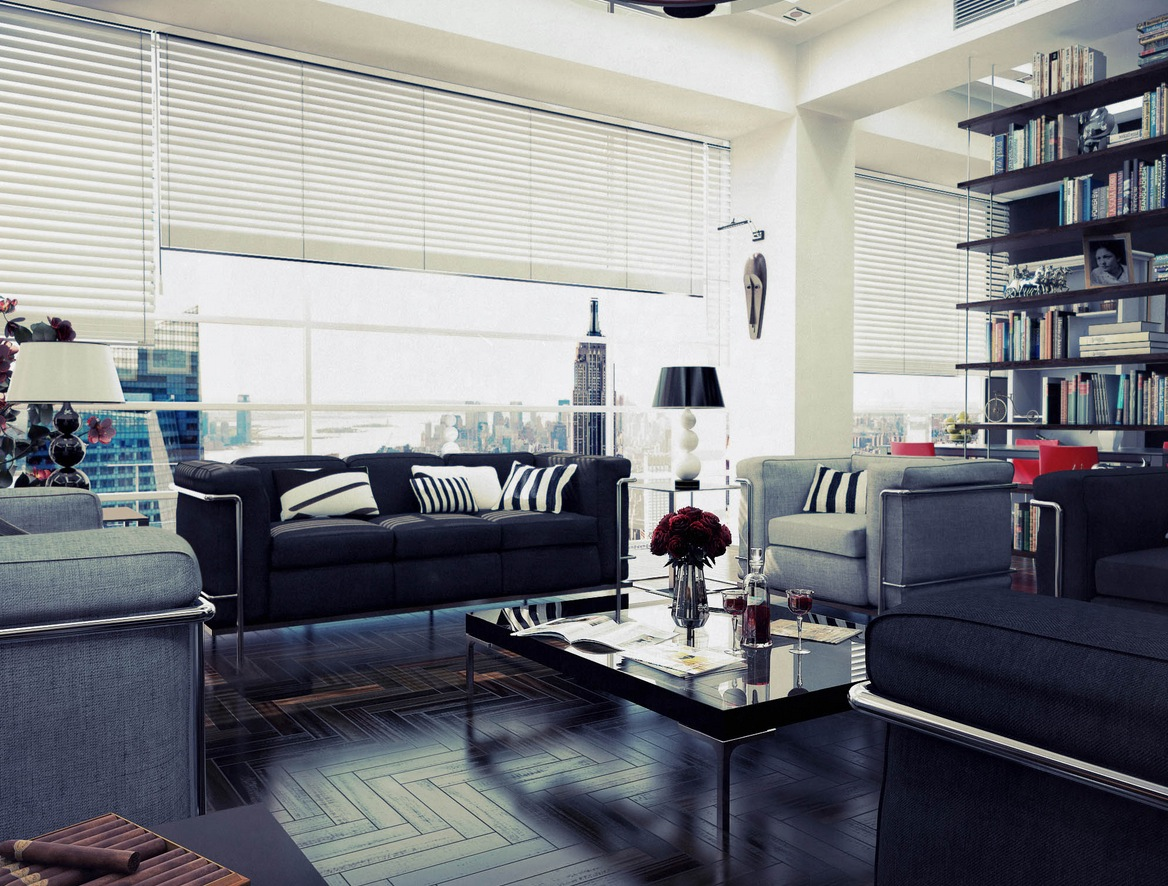 & Chilled Out Contemporary Living Rooms