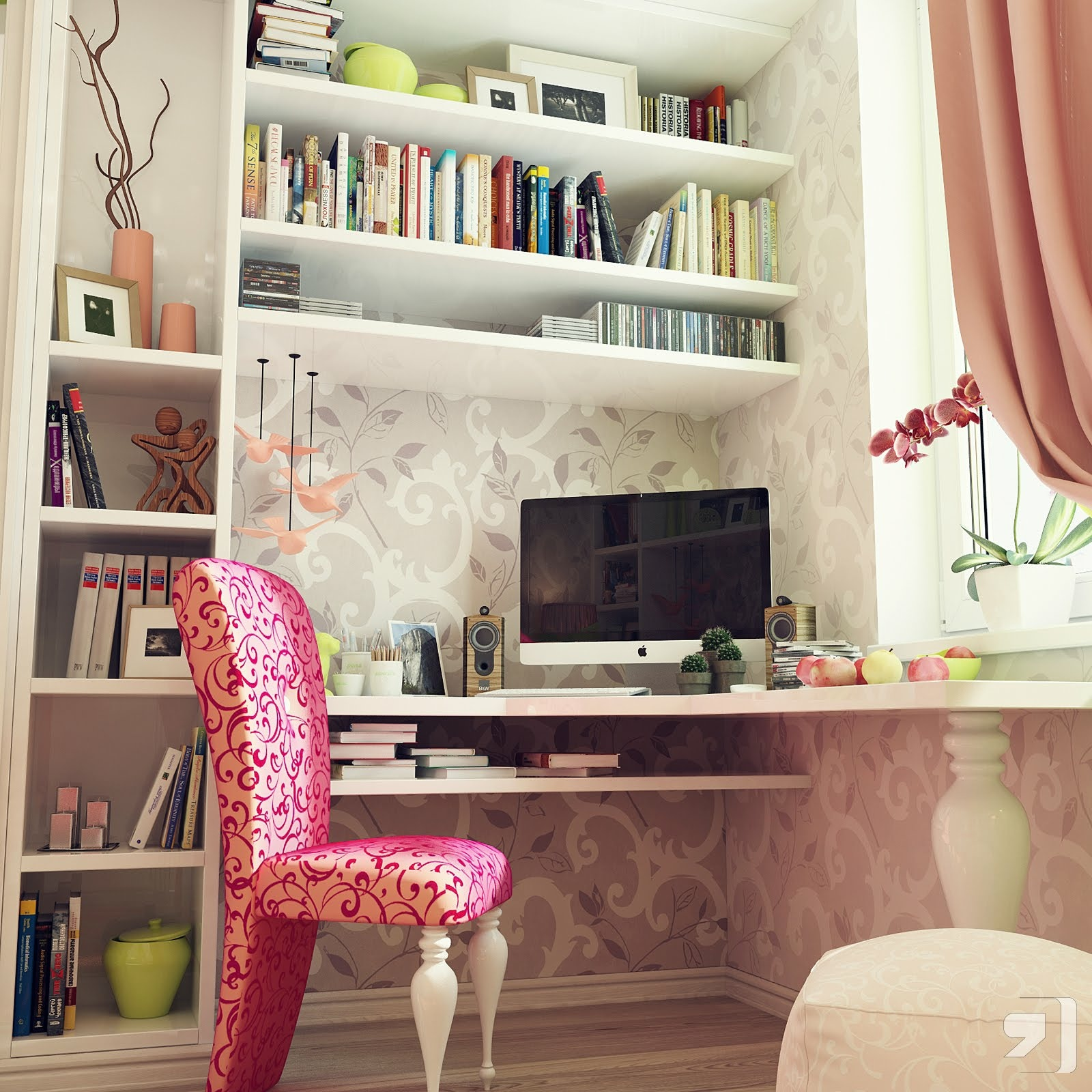 Bedroom Office: Terrific Young Teenager's Rooms