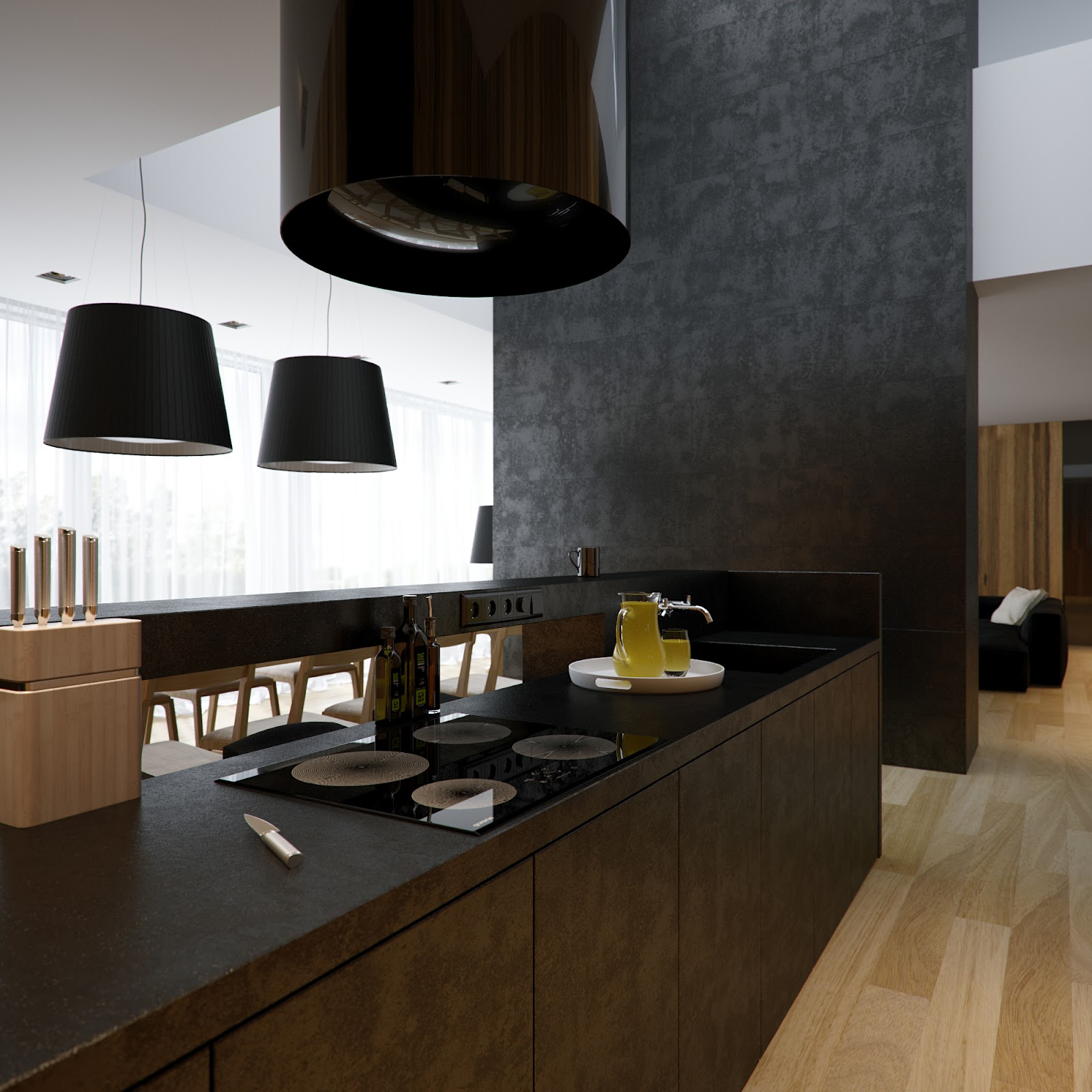 Ultra Modern Kitchen Extractor Fans