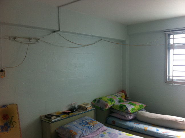 Bedroom before picture