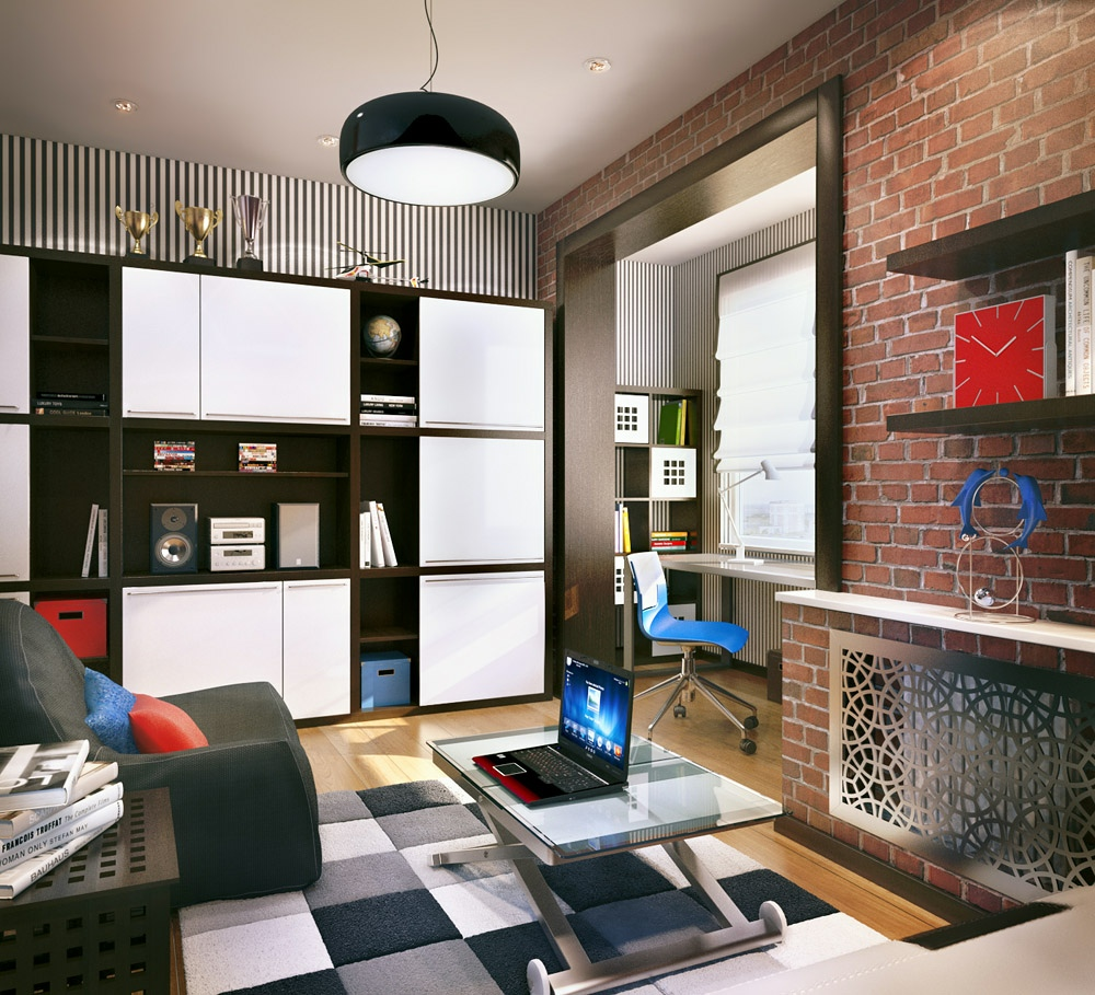 A Dozen Home Workspaces: Terrific Young Teenager's Rooms