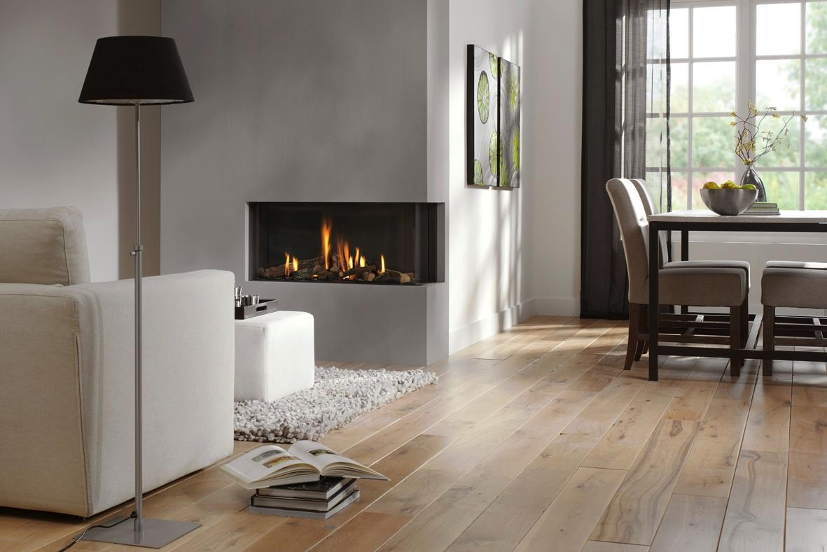 Fabulously Minimalist Fireplaces