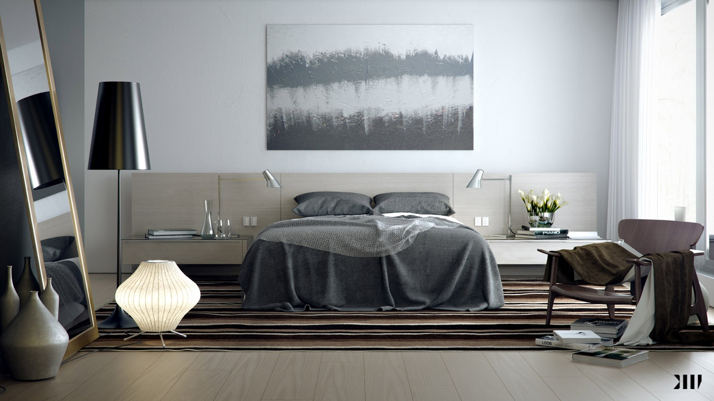 incredible grey brown bedroom | Smart and Sassy Bedrooms