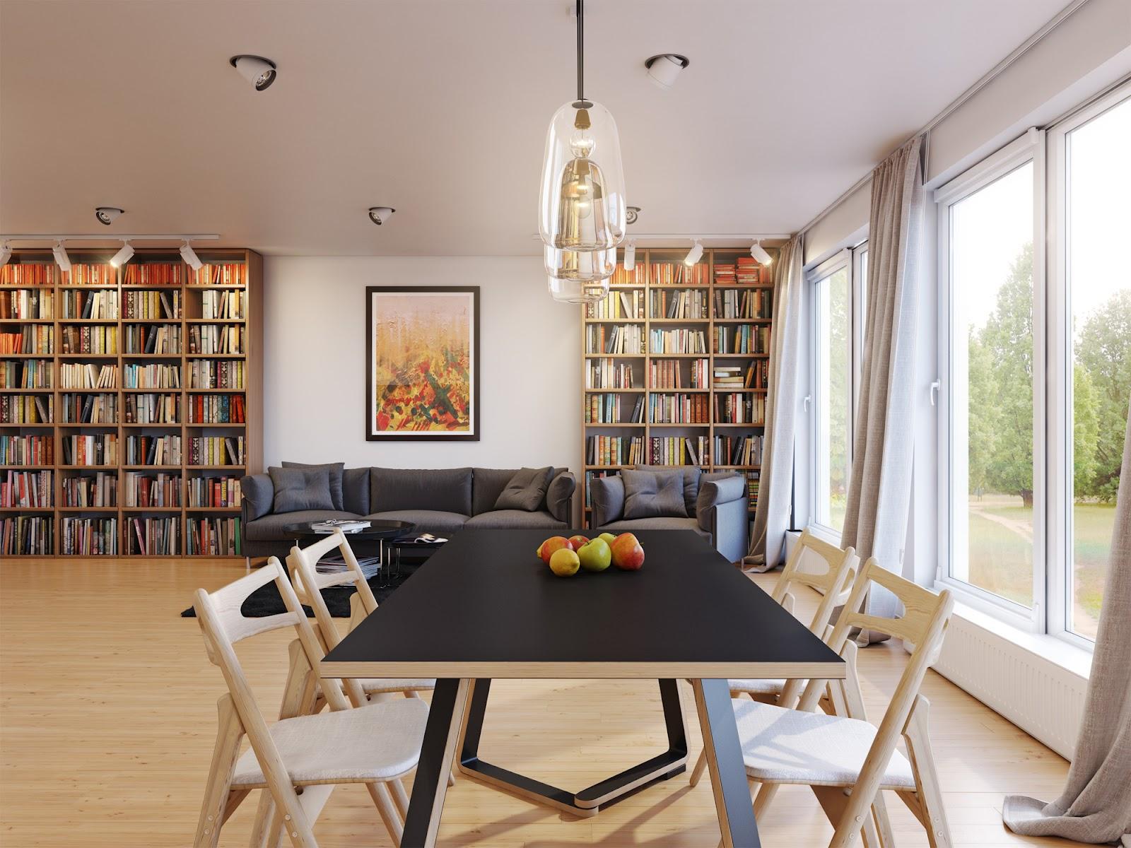 neutral dining room | interior design ideas.
