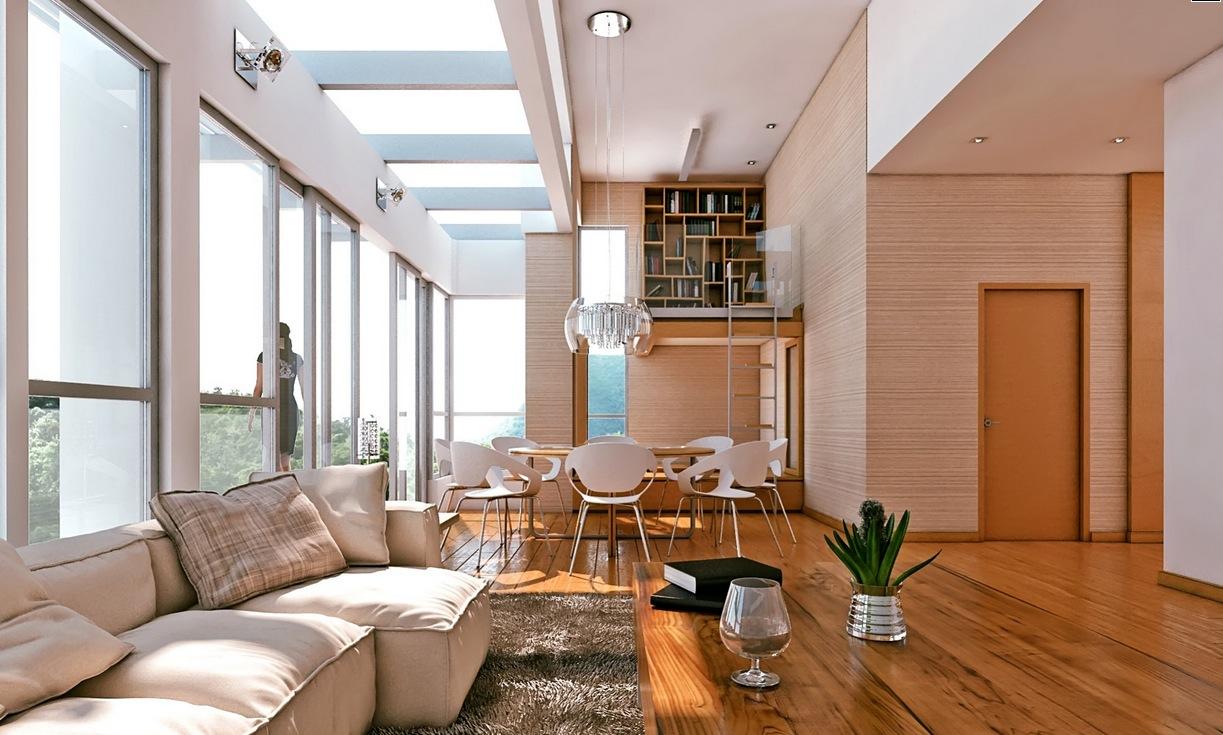 Warm Living Room Ideas: Warm Neutral Interior Scheme