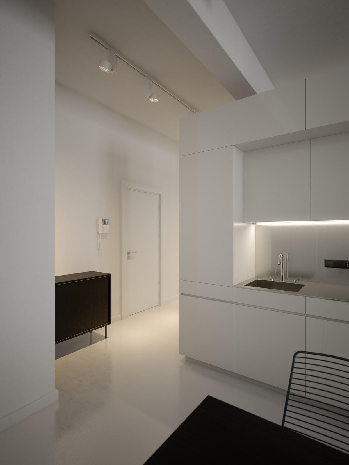 White Kitchen Cabinets Slab Frontinterior Design Ideas