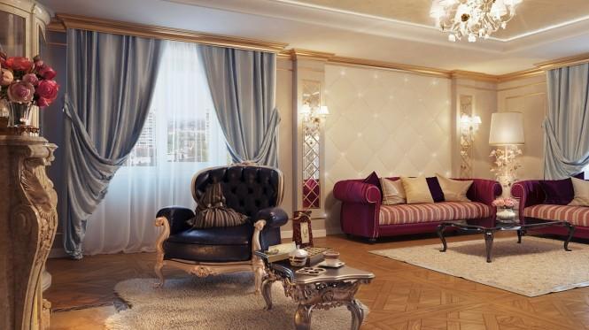 Cream black living room furniture