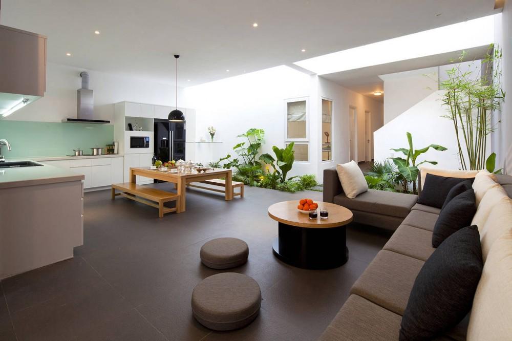 Open plan kitchen diner lounge interior design ideas - Designs for kitchen diners open plan ...