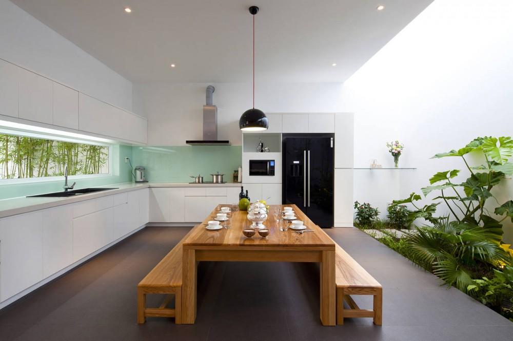 White Kitchen Gl Backsplash