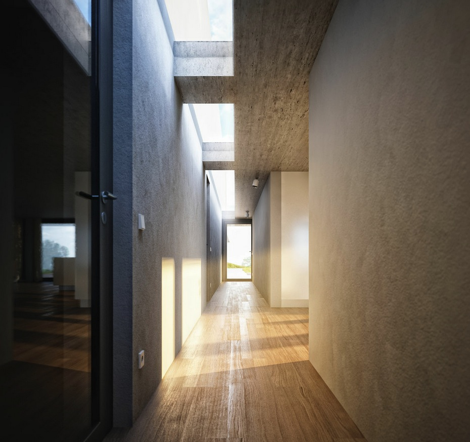 Corridor Design: 3D Adaptation Of Architect Bruno Erpicum's Labacaho House