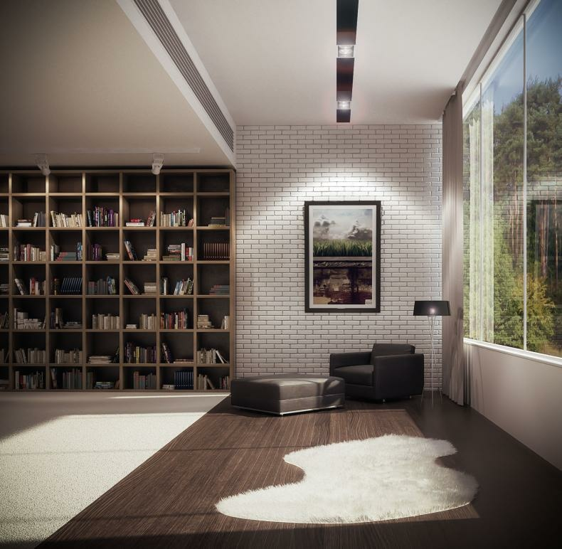 45 Design Ideas Of Amazing Home Libraries: Library Designs