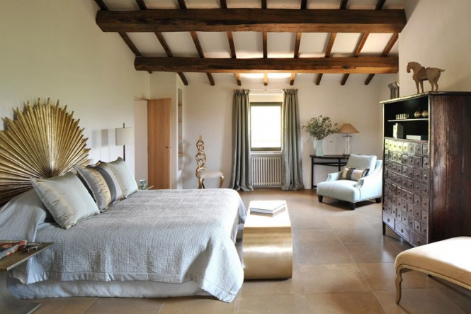 transition of a fortified italian farmhouse. Black Bedroom Furniture Sets. Home Design Ideas